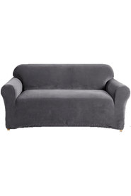 Sure fit couch cover 2 seater slate