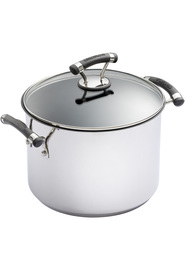 CIRCULON Contempo Stainless Steel Stockpot 24Cm/7.6L