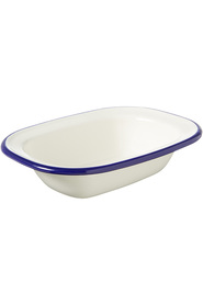 WILTSHIRE Enamel Bakeware Oblong Pie Dish 200Ml