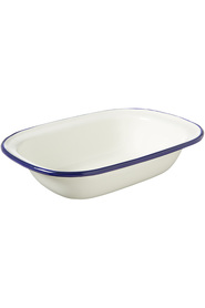 WILTSHIRE Enamel Bakeware Oblong Pie Dish 400Ml
