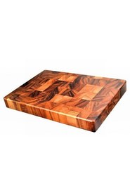 DAVIS AND WADELL Essentials Acacia Wood End Grain Cutting Board
