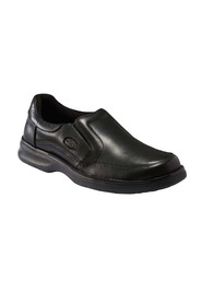 SLATTERS ASHFORD LEATHER GUSSET SLIP ON