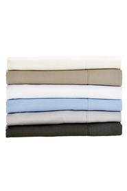 LINEN HOUSE 250 Thread Count Cotton Fitted Sheet QB