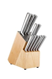 SMITH & NOBEL 12pc Knife Block Natural
