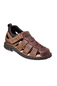 HUSH PUPPIES WATSON CLOSED LEATHER SANDAL