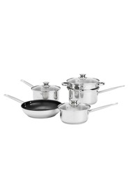 SMITH & NOBEL 5 Pc essentials stainless steel cookset