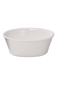 SMITH & NOBEL S+N White Essentials Oval Custard Cup