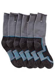 EXPLORER 3 Pack Extreme Impact Cotton Crew Sock