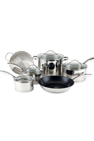 SMITH & NOBEL 6Pc Professional Stainless Steel Cookset