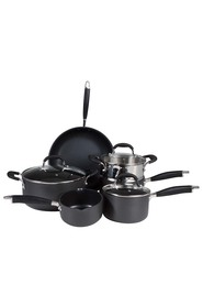 SMITH & NOBEL Professional 6pc Hard Anodised Cookset