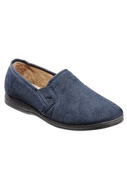 GROSBY RICHARD MENS CORDUROY SLIPPER