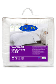 JASON Washable Microfibre Quilt Queen Bed