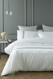 PHASE 2 Whitby Embellished Quilt Cover Set QB