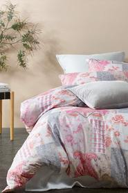 BIG SLEEP Bronte Microfibre Quilt Cover Set QB