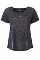 LMAA CROSS BACK TEE LMA704, BLK-MLE, S