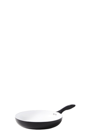 SMITH & NOBEL NORWICH WHITE CERAMIC NON STICK FRYPAN 28CM