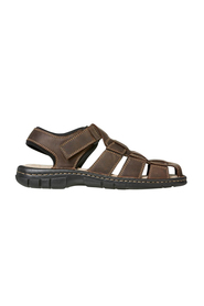 HUSH PUPPIES WARRANT LEATHER CLOSED TOE SANDAL