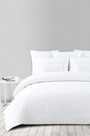 SHAYNNA BLAZE Silverton Quilted Cotton Coverlet 233X243cm