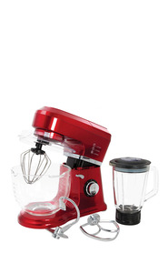 SMITH & NOBEL Stand Mixer With Blender Red
