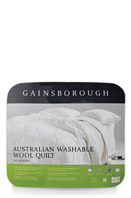 GAINSBOROUGH All Seasons Wool Quilt Single Bed