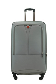 SWISS EQUIP Kotor 81cm 4WD Trolley Case Charcoal