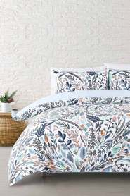 MOZI Floral Forest Cotton Quilt Cover Set DB