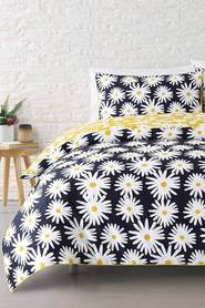 MOZI Marguerite Cotton Percale Quilt Cover Set DB