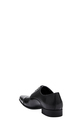 JM LTHR LACE UP W SIDE DETL CO, BLACK, 8