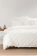 LINEN HOUSE WILUNA CHENILLE QUILT COVER SET QUEEN BED