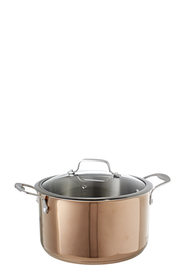 SMITH & NOBEL Geneva Copper Casserole 24cm