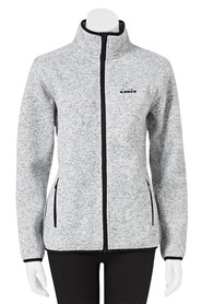 DIADORA Womens Zip thru Melange Fleece