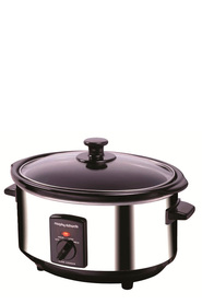 MORPHY RICHARDS 3.5L Slow Cooker Polished