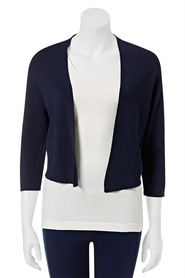 KHOKO SMART  Viscose Crop Cardigan