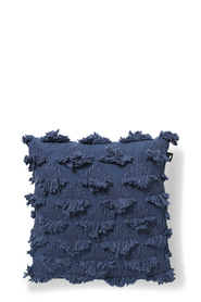 MADRAS LINK Sea Fan Indigo Cotton Cushion 50x50cm