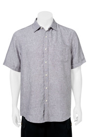 BRONSON Linen Short Sleeve Shirt