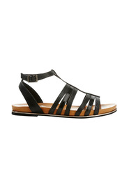 HUSH PUPPIES Janis Leather Strap Sandal