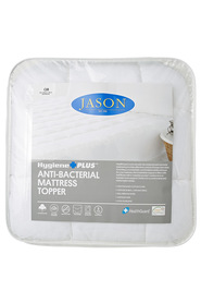 JASON Anti Bacterial Mattress Topper Queen Bed