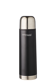 THERMOS THERMOCAFE STAINLESS STEEL VACUUM INSULATED FLASK MATTE BLACK