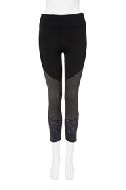 SIMPLY VERA VERA WANG 7/8 Spliced Print Leggings