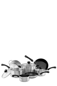 RACO  7Pc Hallmark Series Stainless Steel Cookset