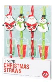 IS GIFT Christmas Straws
