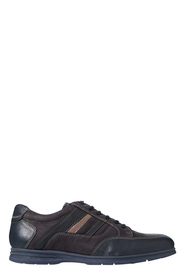 HUSH PUPPIES Kick Lace Up Leather Casual