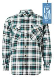 JEANS LTD Printed Long Sleeve Flannelette Shirt