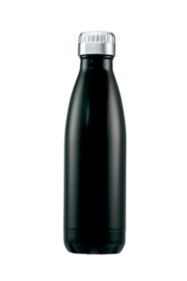 AVANTI Stainless steel fluid vacuum bottle 1lblack | Tuggl