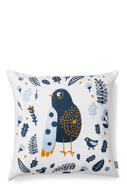 MOZI Forest Birdie Canvas Cushion 50x50cm