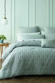 PHASE 2 Bedford 6pc Comforter Set Queen/King Bed