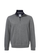 WEST CAPE CONTEMPORARY HALF ZIP FRENCH RIB SWEAT