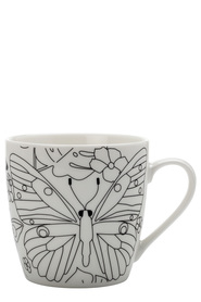 MAXWELL & WILLIAMS MINDFULNESS MUG PAPILLON 470ML