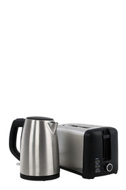 SMITH & NOBEL Toaster And Kettle Pack Stainless Steel