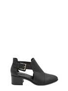 KHOKO CUT OUT ANKLE BOOT